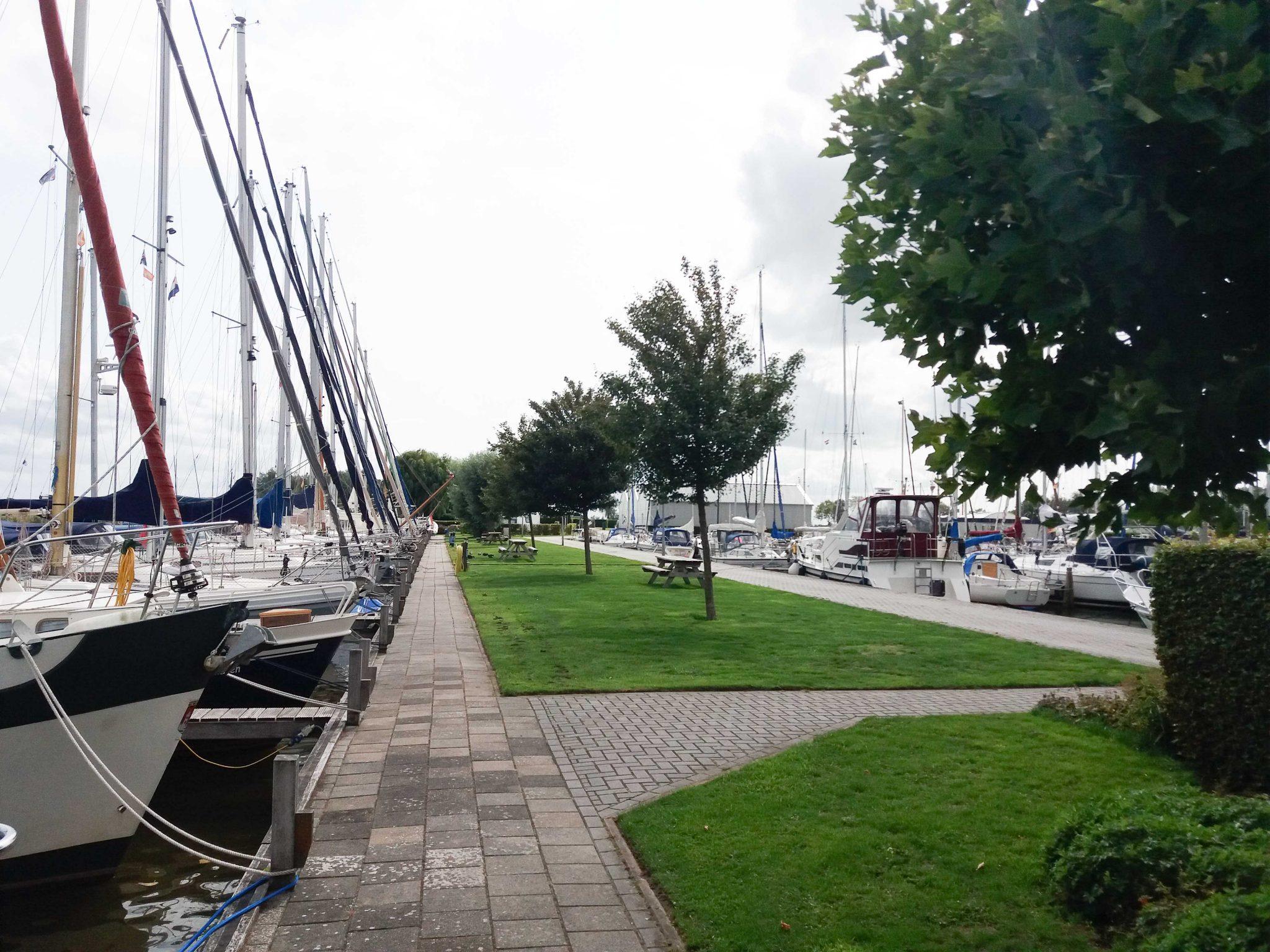 Jachthaven groenstroken