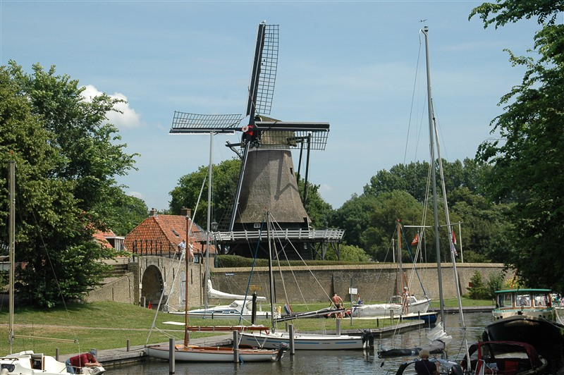 Molen De kaai Sloten Friesland