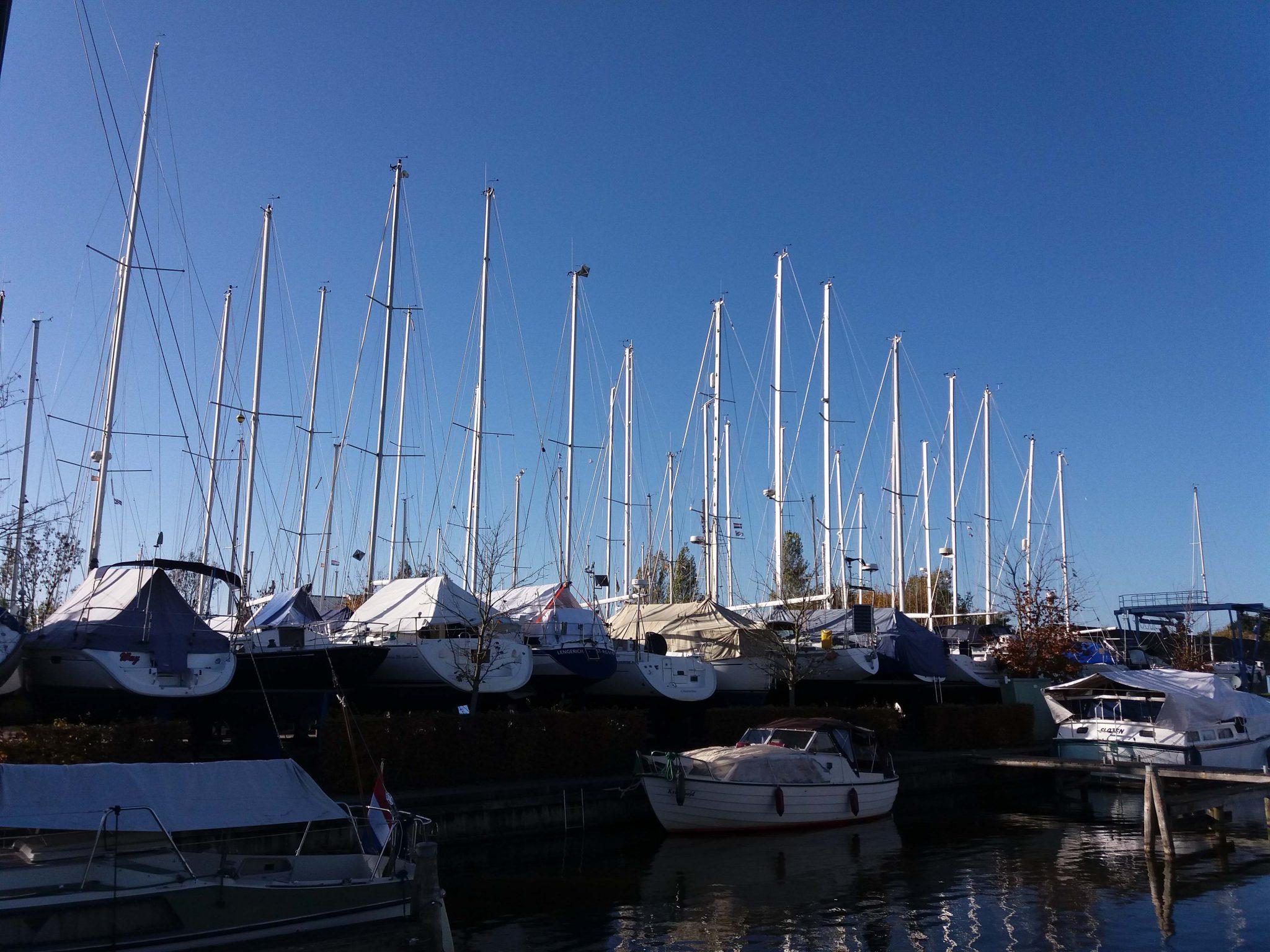 Buitenstalling boten