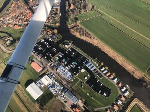 Luchtfoto Jachthaven Lemsterpoort Januari 2019