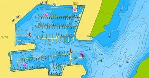 Navionics aanbeveling Lemsterpoort