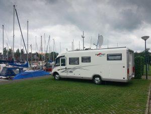 Camperplaatsen direct aan het water