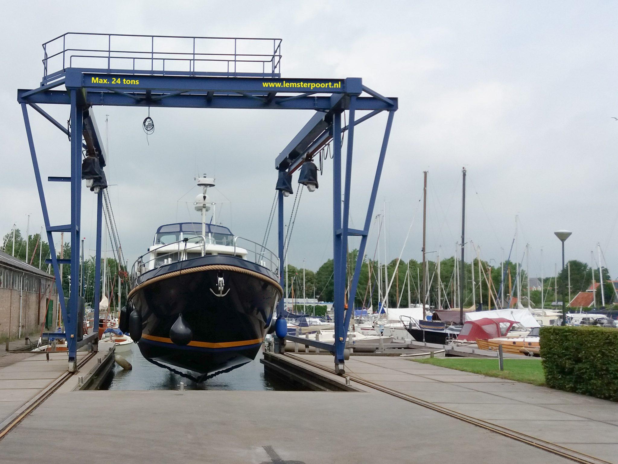 Botenkraan Friesland