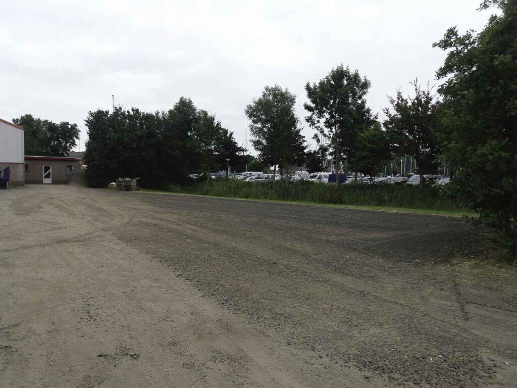 Uitbreiding parkeerplaats jachthaven Lemsterpoort